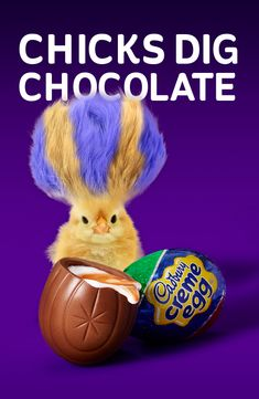 It's true – chicks dig chocolate. Especially when it comes in the form of Cadbury Cream Eggs. Add some to your basket and enjoy Easter the right way!