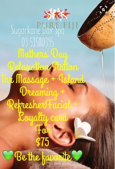 Sugarkane Day Spa Mother's Day  Relaxation Station