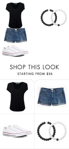 """""""cute"""" by anniecarlone on Polyvore featuring Alexander Wang, J.Crew, Converse and Lokai"""