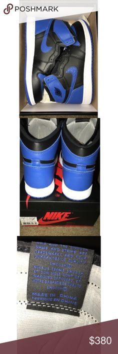 jordan royal retro 1 og authentic jordan royal retro 1 fresh early cop size 7 i like this color but my favorite color is red and if anybody has the jordan bred 1 size 7 fresh let me know scan my code 887223098300 Jordan Shoes Sneakers