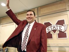 The one, the only, Coach Dan Mullen of the 16th-ranked Mississippi State Bulldogs.