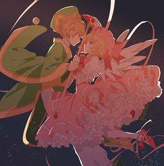 Sakura and Shaoran Space Couple