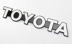 It has been very popular to replace the Toyota Logo with the vintage Toyota Font found on older FJ40 and...