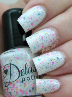 Delush Polish Cirque Fantastique - used on two nails - $10 shipped.