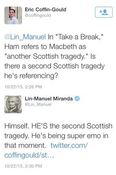 Hamilton being super emo calling his life a Scottish tragedy Alexander Hamilton, Theatre Nerds, Musical Theatre, Comedia Musical, Hamilton Lin Manuel Miranda, Hamilton Musical, Hamilton Broadway, The Rocky Horror Picture Show, Def Not
