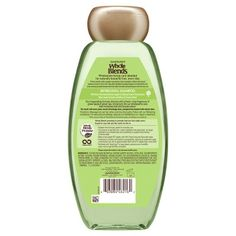 Garnier Whole Blends Green Apple & Green Tea Extracts Refreshing Shampoo - 12.5oz