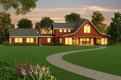 modern energy efficient farmhouses - Bing images