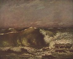 Gustave Courbet (1819–1877): 'The Wave' 1870