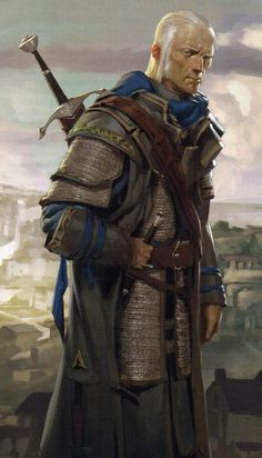 The man was old, age wearing him like a heavy coat. But he had wielded his age and vitality as a blade, and as such he prospers above others yet still.