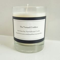 All natural soy candle