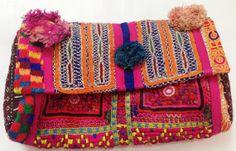 Vintage Banjara clutch gypsy clutch vintage mirror Indian tribal banjara clutch small handmade clutch on Etsy, US$79.00