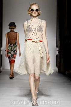 Clements Ribeiro Ready To Wear Spring Summer 2013 London