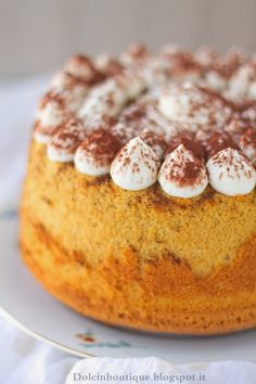 Chiffon Cake mascarpone e caffè…la Fluffosa Tiramisù | Dolci in Boutique