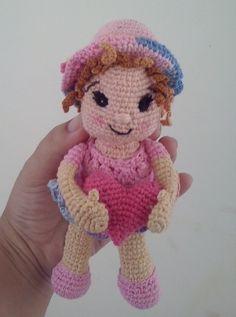 Doll, Amigurumi. Boneca, amigurumi. Croche.
