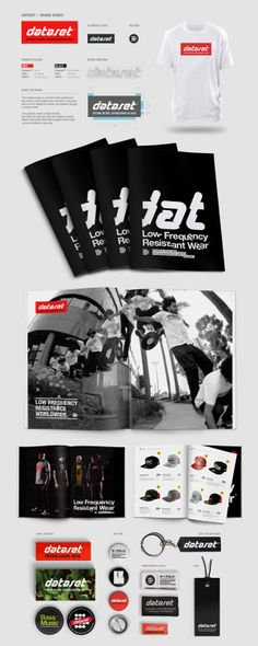 Brand design for Dataset Clothing www.feeldataset.com  Design: www.accent.tv