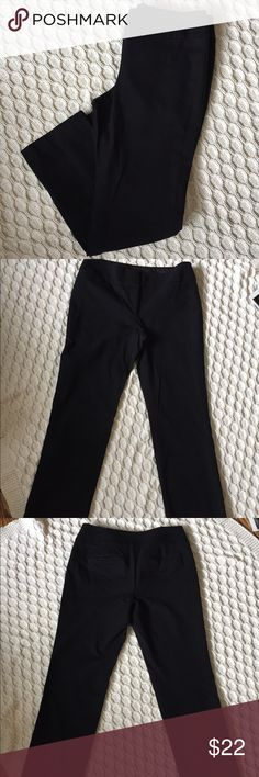 LOFT Black Dress Pants LOFT Black Dress Pants, Size 8, Excellent Condition, I will not hold or trade, I do not model, smoke free home, bundle and save 🛍 LOFT Pants
