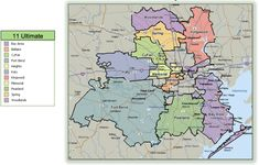 25 best MAPS - Houston, Texas & surrounding areas. images on ...