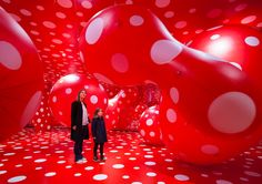 taking over the south wing of the louisiana museum of modern art, legendary japanese artist yayoi kusama presents her first comprehensive retrospective exhibition in scandinavia. 'in infinity' unfolds the artist's oeuvre in chronological order, offering multiple works that embody her thematic and enduring fascination with infinity, cosmological and psychological spaces.