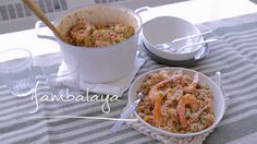 Jambalaya one pan Jambalaya, Quebec, Serious Eats, Easy Weeknight Meals, Gumbo, Fish And Seafood, Casserole Dishes, Seafood Recipes, Macaroni And Cheese