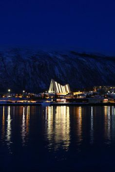 Tromso, Norway (Arctic Cathedral, the most northerly church in the world!) - check!!