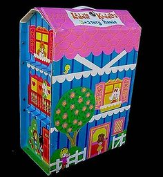 Vintage 1968 Liddle Kiddle 3-Story House | Flickr - Photo Sharing!