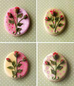 little rose buds
