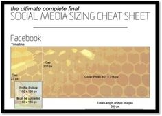 <3 Hello Social Graphic Lovers - Bookmark & SHARE this awesome compilation of all the image size dimensions on all your favorite social networks!!  Here's the link:  http://www.prdaily.com/Main/Articles/b031cca5-c31f-4c26-9f46-a70cf3b6303a.aspx#