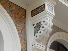More wonderful tile elements in Seville.