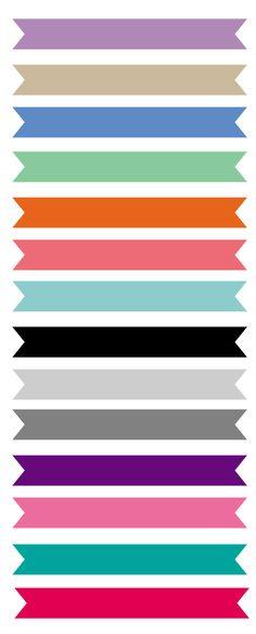 Ribbon: faixas grátis para baixar