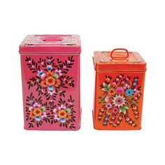 Square Frida Canisters