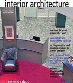 Materials And Components Of Interior Architecture 8th Edition PDF ArchitectureInterior DesignInteriorsFree