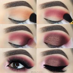 Eye Makeup Tips – How To Apply Eyeliner Eye Makeup Tips, Makeup Goals, Skin Makeup, Makeup Inspo, Makeup Inspiration, Beauty Makeup, Makeup Ideas, Eyeshadow Ideas, Glitter Eyeshadow