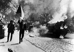 On the night of 20–21 August 1968, the Soviet Union and her main allies in the Warsaw Pact – Bulgaria, the German Democratic Republic, Hungary and Poland – invaded the Czechoslovak Socialist Republic in order to halt Alexander Dubček's Prague Spring political liberalisation reforms.[2]    In the operation, codenamed Danube, varying estimates of between 175,000 and 500,000 troops[3] attacked Czechoslovakia; approximately 500 Czechs and Slovaks were wounded and 108 killed in the invasion.