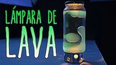 Cómo hacer una lámpara de lava (Experimentos Caseros) - YouTube