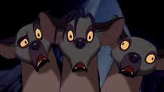 Shenzi, Banzai & Ed (Lion King). Ed Lion King, The Lion King 1994, Lion King Movie, Disney Lion King, King 3, Disney Films, Disney Villains, Disney S, Disney Wishes