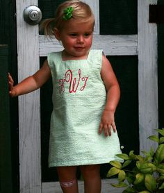 my future baby. she will be all decked out in monograms. not that there was any question in that.