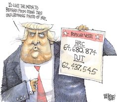 Matt Davies Editorial Cartoon, November 29, 2016 on GoComics.com