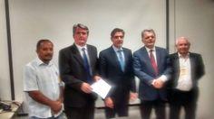 .: Pedretti e Bragato se reúnem com o secretário de transportes em busca de melhorias para vias de Dracena