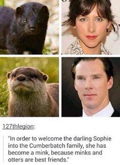 Oh my gosh>>>are they irl? I don't know. But Sophie makes a good mink ;)