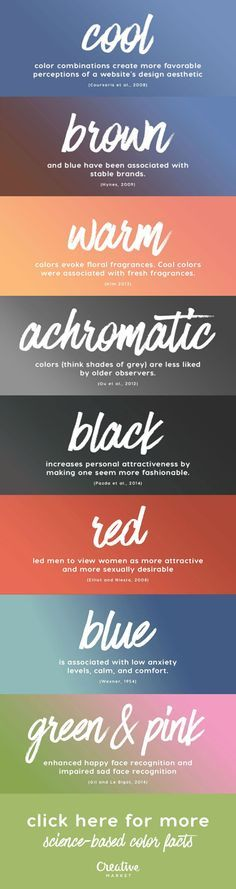 We collected evidence-based insights about color meanings that can help us all make more informed � and responsible � design decisions both for personal and client projects