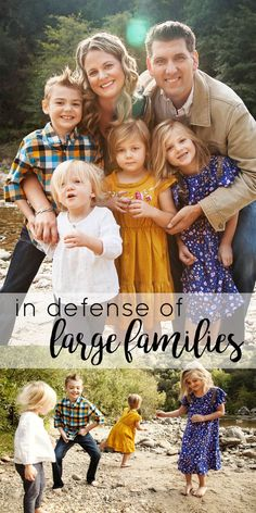 There are pros and cons to everything in life. And there are pros and cons to a large family! Read honest thoughts from a mom of five. Parenting Styles, Parenting Advice, Gentle Parenting, Kids And Parenting, Big Family, Family Life, Large Families On Purpose, Difficult Children, Four Kids