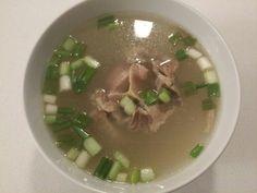 Ox tail soup 꼬리 곰탕  꼬리 (ggo-ri) tail  www.mylanguageconnect.com Oxtail, Korean Food, Soup, Culture, Ethnic Recipes, Travel, Voyage, Korean Cuisine, Soups