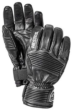 Hestra Leather Ergo Grip Outdry Gloves-10-Black *** Click on the image for additional details.