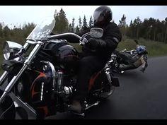 $80 000 Boss Hoss motorcycle crash