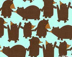 mega bear fabric @Shaila Cavanaugh
