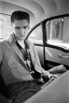 Elvis Presley by Alfred Wertheimer