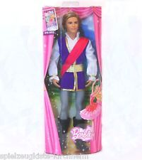 Mattel X8811 Ken als Prinz Siegfried Barbie Puppe Spielpuppe Barbiepuppe NEU OVP