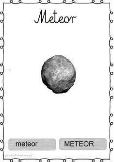 KOSMOS – plansze zestaw 1 – Przedszkolankowo Kids Homework, Montessori Materials, Sistema Solar, Astronomy, Kids Learning, Classroom, Education, Celestial, Movies