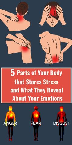 Our body stores stress and this messes up with our mental state. Many Places Your Body Stores Stress And What It Reveals About Your Emotions. Wellness Fitness, Fitness Diet, Health And Wellness, Health Fitness, Natural Health Tips, Natural Health Remedies, Natural Cures, Health Facts, Health Diet