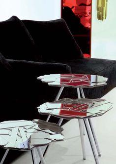 Edra, mesitas modelo Scrigno diseñado por Fernando & Humberto Campana. Mobiliario de diseño para hogar, hoteles y contract. (Espacio Aretha agente exclusivo para España).